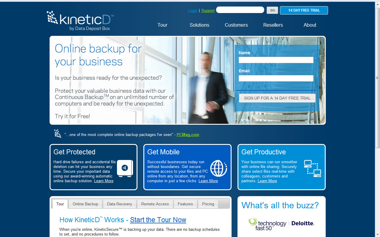 KineticD_Online_Cloud_Data_Backup_Service_Review