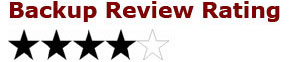 4 star rating 3X Online Offsite Remote Cloud Backup Appliance Review