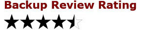 4.5 star rating Asigra Cloud Backup review