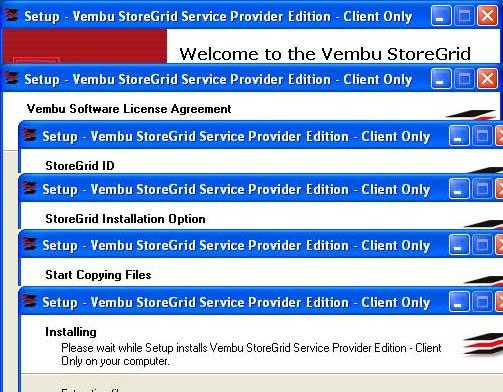 Vembu-StoreGrid-Service-Provider-Edition-Installation