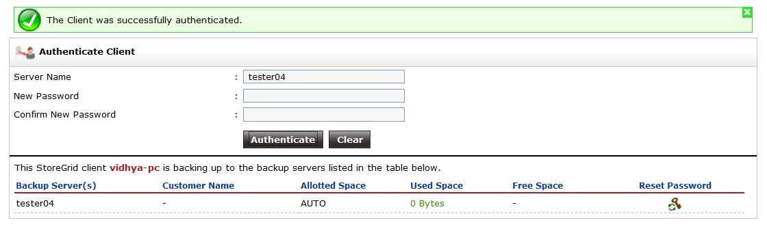 Vembu-StoreGrid-Service-Provider-Edition-Authenticate-Client