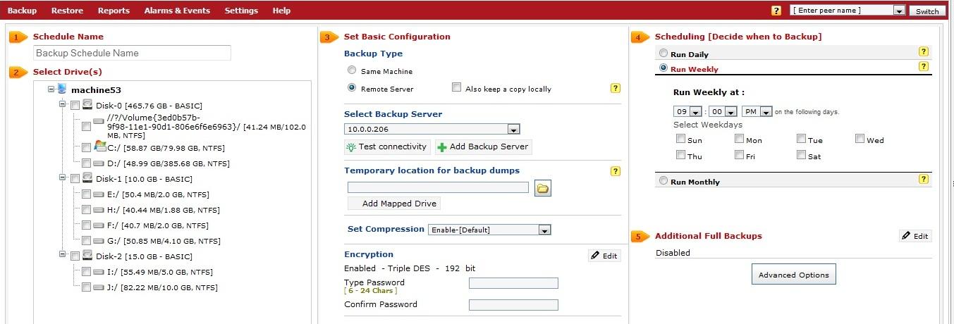 Vembu-StoreGrid-Service-Provider-Edition-Disk-Image-Scheduling-Screen