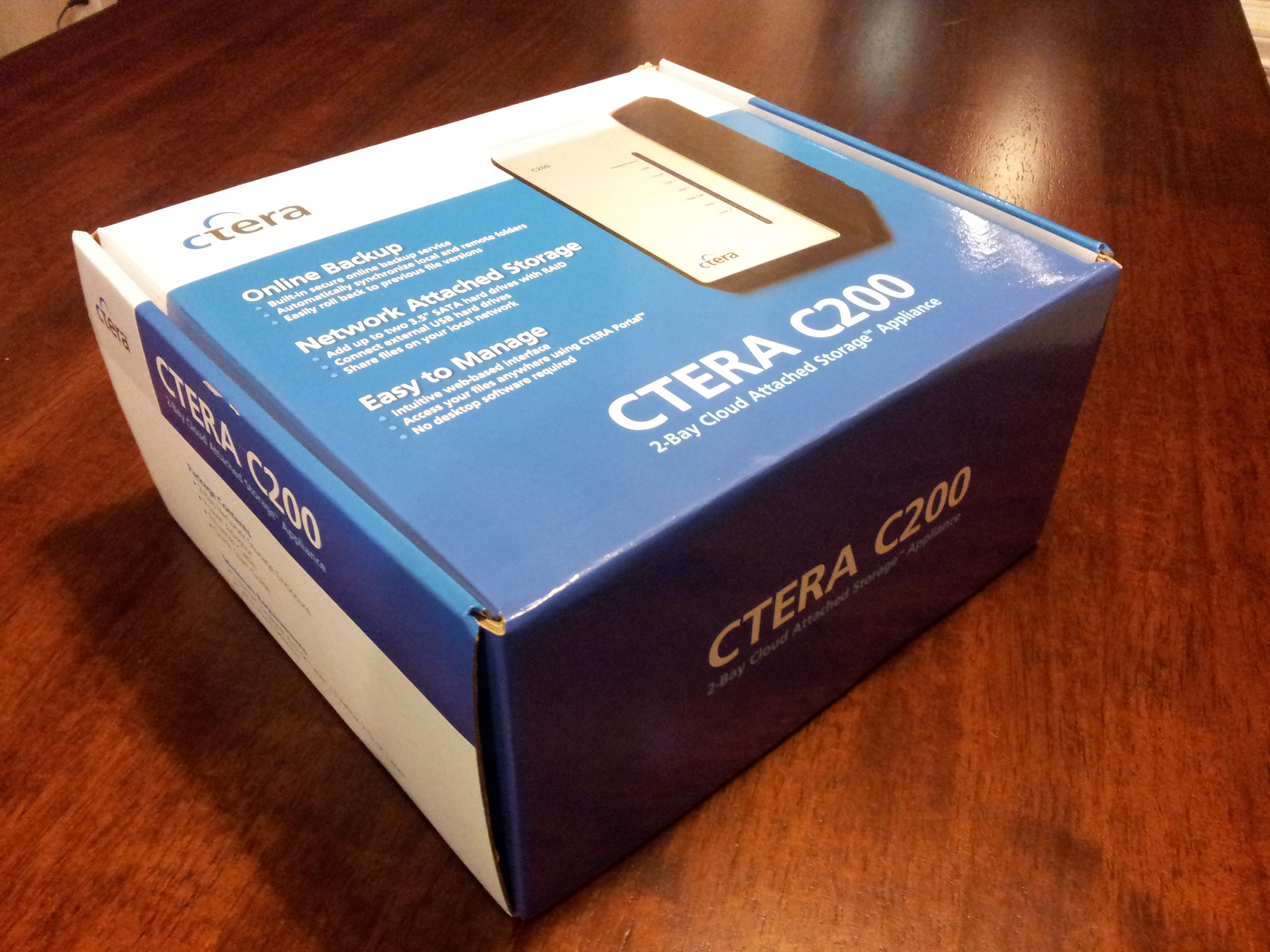 CTERA-C200-C400-C800-CloudPlug-Review-Unopened-Box-Packaging